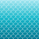Fish scale and mermaid background Stock Image