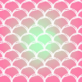 Fish scale and mermaid background Royalty Free Stock Photo