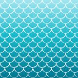 Fish scale and mermaid background. Mermaid scale on trendy gradient background. Square backdrop with mermaid scale ornament. Bright color transitions. Fish tail Stock Photography