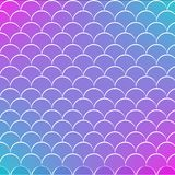 Fish scale and mermaid background. Fish scale on trendy gradient background. Square backdrop with fish scale ornament. Bright color transitions. Mermaid tail Stock Photo