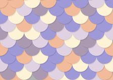 Fish scale pattern, abstract stock vector, color texture, bright colour,. Abstract colour background, illustration background Stock Photo