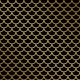 Fish scale pattern. Girlish fish scale pattern. Vector illustration Royalty Free Stock Photo