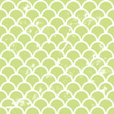 Fish scale pattern Stock Image