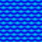 Fish scale pattern Royalty Free Stock Images