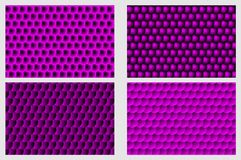 Simple circular background. Fish scale pattern, Simple circular background - purple set - vector circle pattern Royalty Free Stock Photo