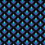 Fish scale seamless pattern Royalty Free Stock Photos