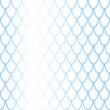 Fish scale seamless pattern with colorful gradient. Fish skin  background. Scale ornament. Mermaid pattern. Blue fish skin seamless pattern tile. Mermaid Stock Photos