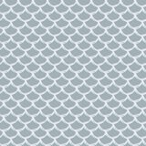 Fish scale seamless pattern. Reptile, dragon skin texture. Tillable background for your fabric, textile design, wrapping paper, swimwear or wallpaper. Grey Stock Photo