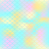 Fish scale texture  pattern. Magic mermaid tail background. Stock Images