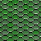 Fish Scales. A texture that looks like the scales on a fish or reptile.  This tiles seamlessly as a pattern Stock Photos