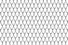 Fish scales background Stock Photo