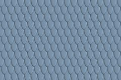 Fish scales background. Animal skin texture. Graphic design element for web, restaurant flyers, food posters, scrapbooking. 3D illustration Royalty Free Stock Photography