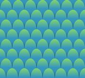 Fish scales seamless background in blue and green design. Vector EPS 10 vector illustration