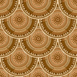 Fish scales seamless pattern Royalty Free Stock Photo
