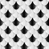 Fish Scales seamless pattern. Vector illustration Stock Photo
