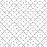 Fish scales simple seamless pattern Stock Images