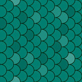 Fish scales texture seamless - vector Stock Image