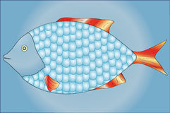 Fish with scales Stock Images