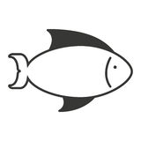 Fish sea isolated icon. Illustration design Stock Image