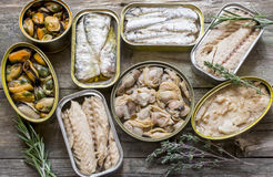 Fish and seafood Royalty Free Stock Image