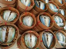 Fish in seafood market Royalty Free Stock Photography