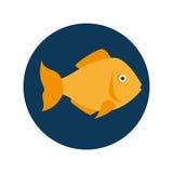 Fish seafood menu icon. Illustration design Royalty Free Stock Image