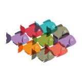 Fish seafood menu icon. Illustration design Royalty Free Stock Photo