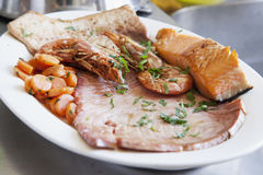 Fish and seafood Stock Photography