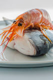 Fish_seafruit_02 Stock Photo