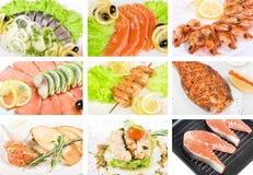Fish set Stock Photo