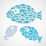Fish Shaped Abstract Fish Stock Image