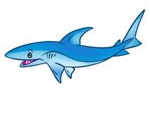 Fish Shark cartoon illustration Royalty Free Stock Images