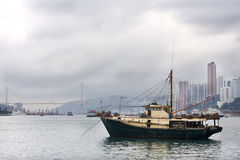 Fish ship Royalty Free Stock Images