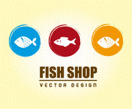Fish shop Royalty Free Stock Photography
