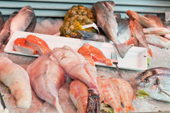 Fish shop in Holland Royalty Free Stock Photo