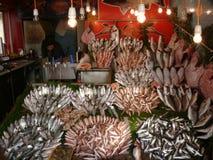 Fish shop. In İstanbul Yeşilköy Royalty Free Stock Photo