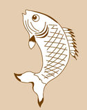 Fish Silhouette Royalty Free Stock Photos