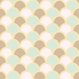 Fish skin style background. Fish scales pattern. Pastel colors. Fish skin seamless background, print. vector Stock Photography