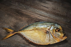 Fish smoke-dried vomer Royalty Free Stock Image