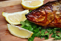 Fish smoked Royalty Free Stock Photo