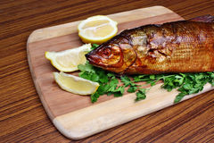 Fish smoked whitefish Royalty Free Stock Photo