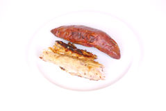 Grilled fish starter Royalty Free Stock Photos