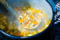 Fish soup Stock Photo