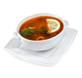 Fish soup Stock Image