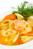 Fish soup Royalty Free Stock Image