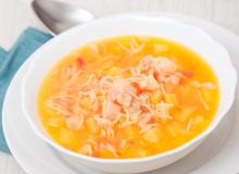 Fish soup Royalty Free Stock Photos