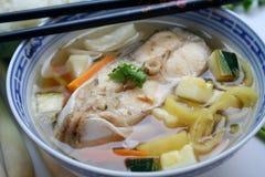 A fish soup Stock Photo