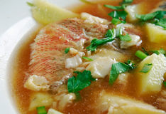 Fish soup Aljotta Royalty Free Stock Photography