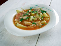 Fish soup Aljotta Royalty Free Stock Photos