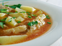 Fish soup Aljotta Stock Images